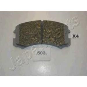 JAPANPARTS PA503AF Комплект тормозных колодок, дисковый тормоз