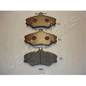 JAPANPARTS PA595AF Комплект тормозных колодок, дисковый тормоз