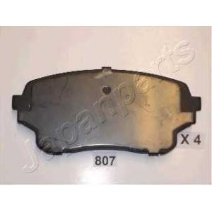JAPANPARTS PA807AF Комплект тормозных колодок, дисковый тормоз