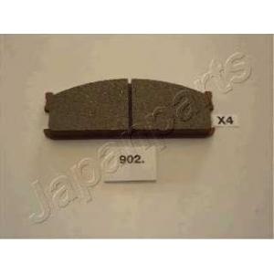 JAPANPARTS PA-902AF Комплект тормозных колодок, дисковый тормоз Исузу Мидиан