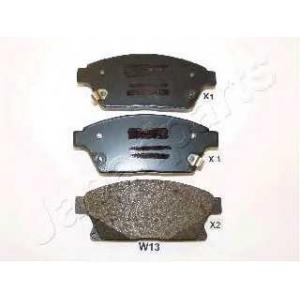 Комплект тормозных колодок, дисковый тормоз paw13af japanparts - CHEVROLET ORLANDO (J309) вэн 1.8