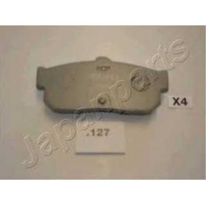 JAPANPARTS PP-127AF Комплект тормозных колодок, дисковый тормоз Инфинити Ай 30