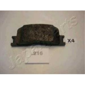 JAPANPARTS PP216AF Комплект тормозных колодок, дисковый тормоз