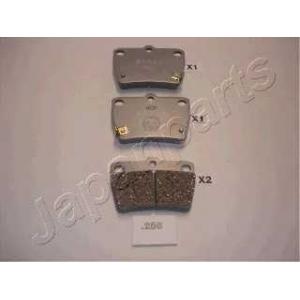 JAPANPARTS PP-256AF C22027JC;04466-42020;CJ2-227MK;D2188;T11BJ3501080;MP-484J M227 (MP-2484,D2188M,GDB3279);MP-484J M1233 (MP-2484,D2188M,GDB3279);C22027;A-317;BR0027S;C20703;C22009;MP-2484 M1236 (MP-484J,D2188M,GDB3279);04466-42030;04466-42010;04466-42040;04466-42050;QE0027 Rav 4 01~ R