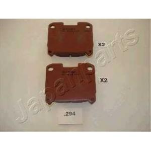 Комплект тормозных колодок, дисковый тормоз pp294af japanparts - TOYOTA CELICA (_T20_) купе 2.0 i Turbo 4WD (ST205)