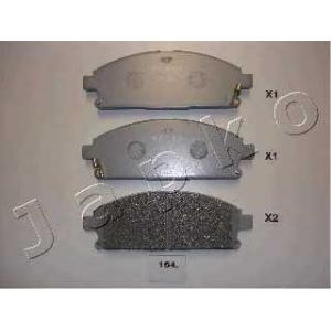 JAPKO 50154 Комплект тормозных колодок, дисковый тормоз Инфинити Кью-Икс 4