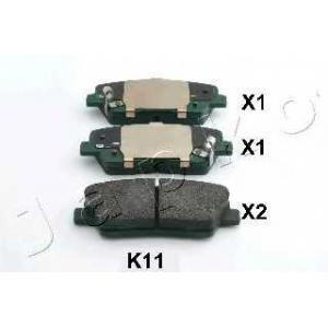 JAPKO 51K11 Комплект тормозных колодок, дисковый тормоз Хюндай