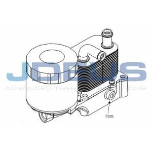 JDEUS 412M25 Масляный охладитель