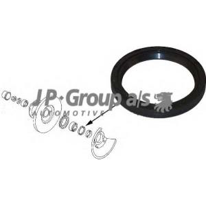 JP GROUP 1142000400 Уплотняющее кольцо вала, подшипник ступицы колеса