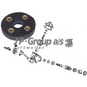 JP GROUP 8144250200 Фланец, колонка рулевого управления