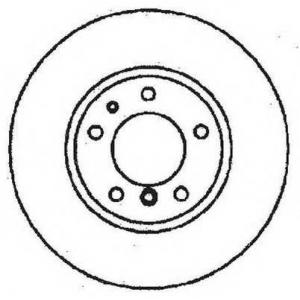 JURID 561478JC Тормозной диск