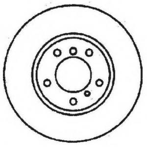 JURID/BENDIX 561479JC Тормозной диск