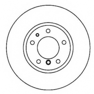 JURID 561963JC Тормозной диск Крайслер Саратога