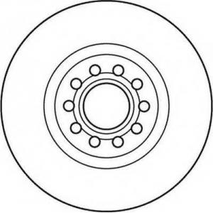 JURID 562383JC Тормозные диски (пр-во Jurid)