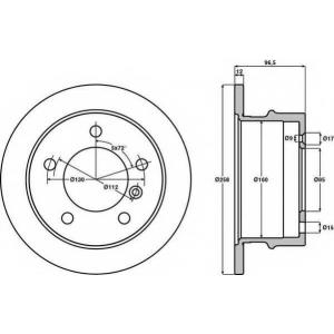 JURID 567771J Тормозные диски (пр-во Jurid)