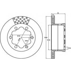 JURID 567810J Тормозные диски (пр-во Jurid)