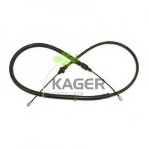 KAGER 19-1221 Трос, стояночная тормозная система