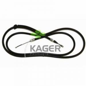 KAGER 19-1251 Трос, стояночная тормозная система