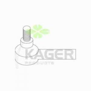 KAGER 43-0883 Наконечник поперечной рулевой тяги