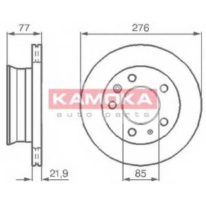 KAMOKA 103306 Гальмiвнi диски