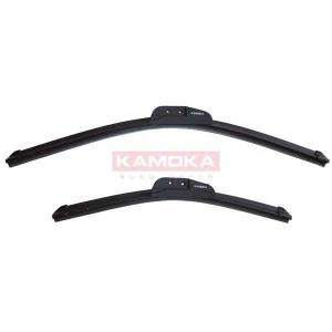 KAMOKA 27E18 Щетка стеклоочистителя компл. 530мм /380мм 21\/15\Daewoo Matiz 98'->;Toyota Yaris 99'->;VW FOX 05'-
