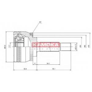 KAMOKA 7056 Запчасть