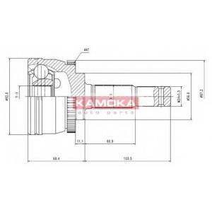 KAMOKA 7080 К-т шарнiрний привiдного валу