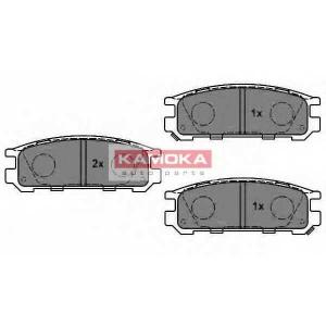 KAMOKA JQ1011580 Гальмiвнi колодки дисковi