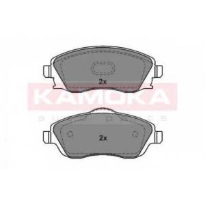 Комплект тормозных колодок, дисковый тормоз jq1012848 kamoka - OPEL CORSA C (F08, F68) Наклонная задняя часть 1.0