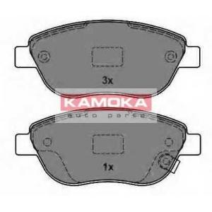 KAMOKA JQ1013838 Гальмiвнi колодки дисковi