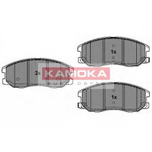 KAMOKA JQ1018616 Гальмiвнi колодки дисковi