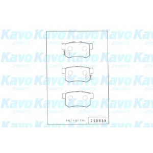 KAVO PARTS BP-2032 Brake Pad