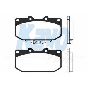 Комплект тормозных колодок, дисковый тормоз bp6513 kavo - NISSAN 300 ZX (Z32) купе 3.0 Twin Turbo