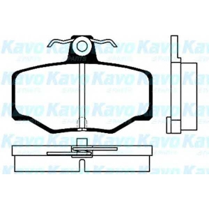 KAVO PARTS BP-6547 Brake Pad