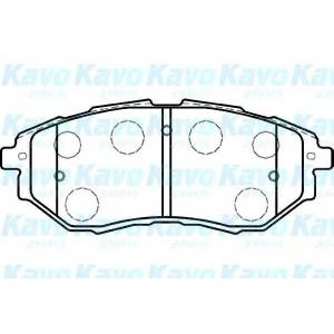 Комплект тормозных колодок, дисковый тормоз bp8020 kavo - SUBARU OUTBACK (BL, BP) универсал 2.5