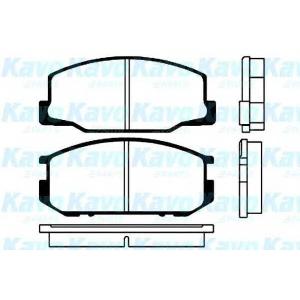 KAVO PARTS BP-9004 Brake Pad