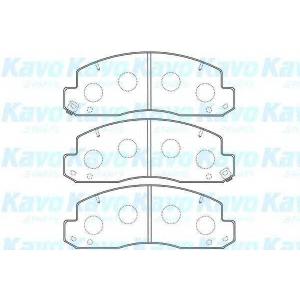 KAVO PARTS BP-9106 Brake Pad