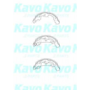 Комплект тормозных колодок bs9933 kavo - TOYOTA YARIS (SCP1_, NLP1_, NCP1_) Наклонная задняя часть 1.4 D-4D