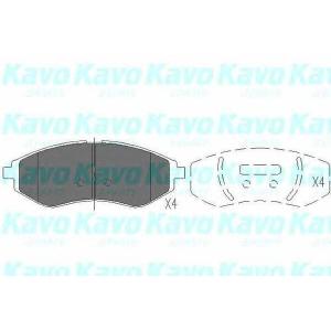 Комплект тормозных колодок, дисковый тормоз kbp1003 kavo - DAEWOO KALOS (KLAS) Наклонная задняя часть 1.4