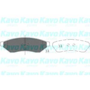 Тормозные колодки дисковые kbp1015 kavo -