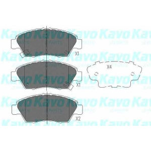 KAVO PARTS KBP-2003 Brake Pad