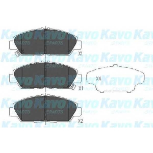 KAVO PARTS KBP-2005 Brake Pad