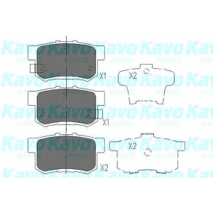 KAVO PARTS KBP-2009 Brake Pad