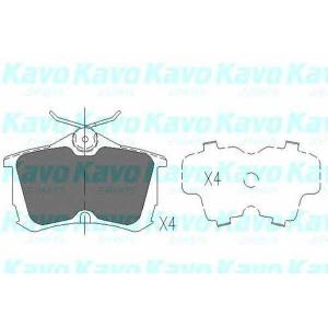 Комплект тормозных колодок, дисковый тормоз kbp2011 kavo - HONDA ACCORD VII (CG, CK) седан 1.8 i