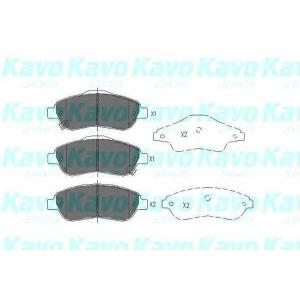 Комплект тормозных колодок, дисковый тормоз kbp2041 kavo - HONDA CR-V III вездеход закрытый 2.0 i