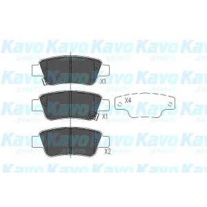 Комплект тормозных колодок, дисковый тормоз kbp2042 kavo - HONDA CR-V III вездеход закрытый 2.0 i