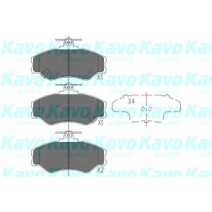 KAVO PARTS KBP-3002 Brake Pad