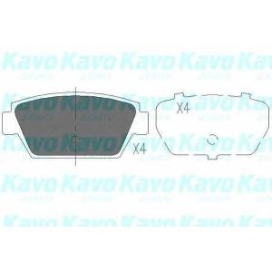 KAVO PARTS KBP-3010 Комплект тормозных колодок, дисковый тормоз Исузу Мидиан