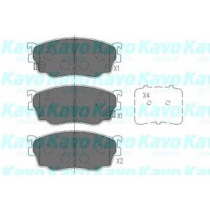 Комплект тормозных колодок, дисковый тормоз kbp4509 kavo - MAZDA 626 V (GF) седан 2.0