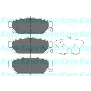 KAVO PARTS KBP-5510 Brake Pad